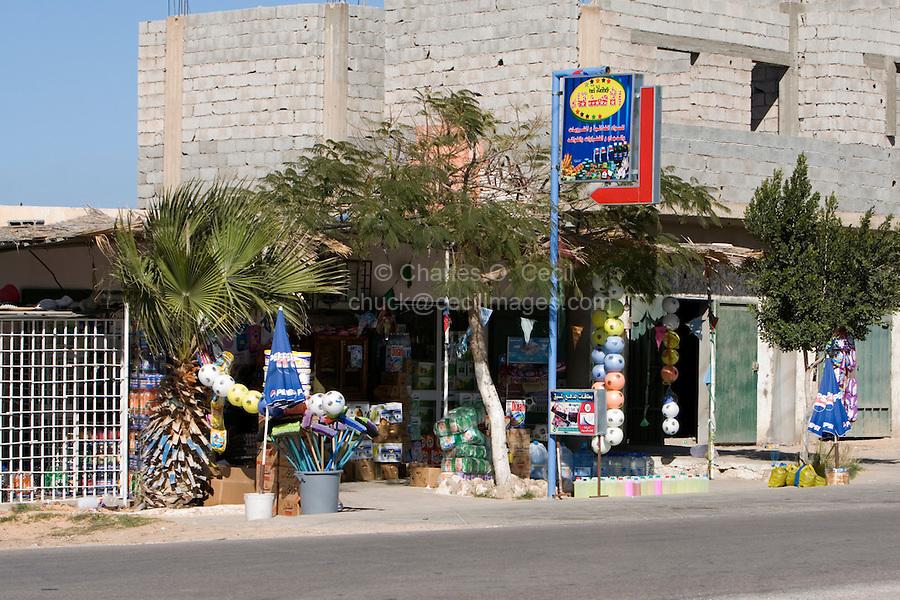 Tripoli, Libya - Roadside Shop, Store.