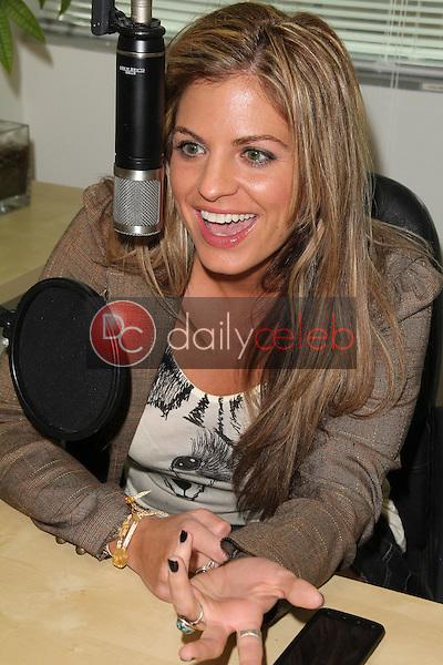 Bridgetta Tomarchio<br /> on the Bridgetta &amp; Sam in the Morning on LA Talk Radio, Private Location, Los Angeles, CA 01-12-12<br /> David Edwards/DailyCeleb.com 818-249-4998