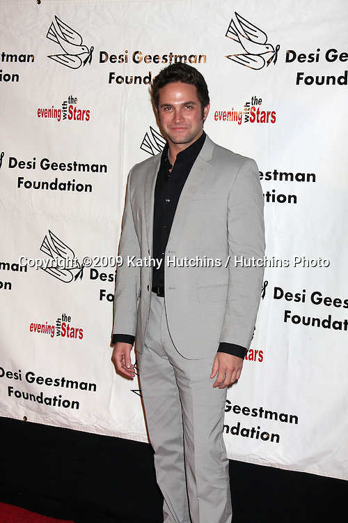 Brandon Barash.2009 Evening with the Stars Celebrity Gala for the Desi Geestman Foundation.Gilmore Adobe at Farmer's Market.Los Angeles,  CA.October 10,  2009.©2009 Kathy Hutchins / Hutchins Photo.