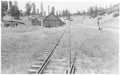 View looking west at Porter in 1941.<br /> RGS  Porter, CO  Taken by Best, Gerald M. - 7/17/1941