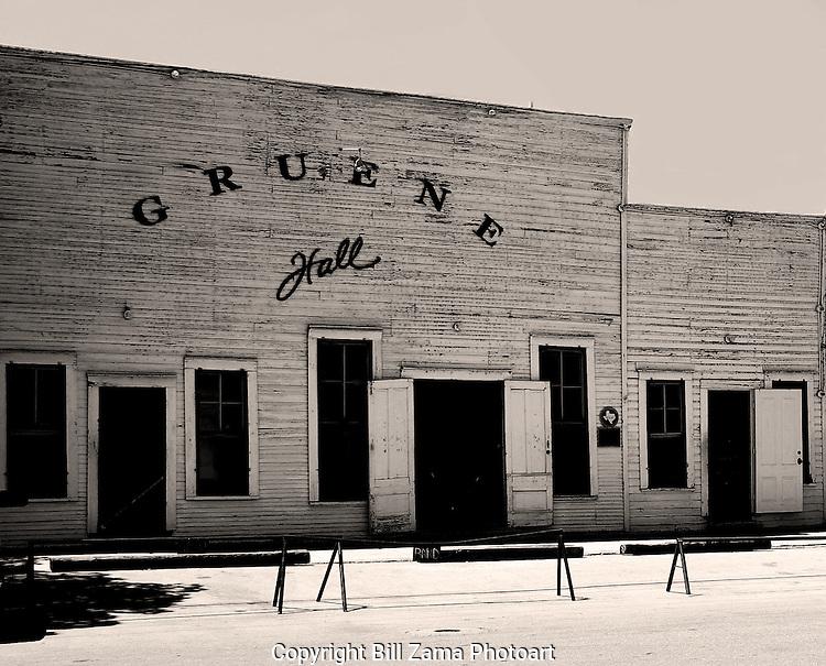 Gruene Hall ...the oldest dancehall in Texas.