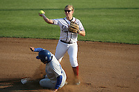 25 October 2007: Stanford Cardinal Shannon Koplitz during Stanford's 5-4 loss in seven innings against the San Jose State Spartans at Boyd & Jill Smith Family Stadium in Stanford, CA.