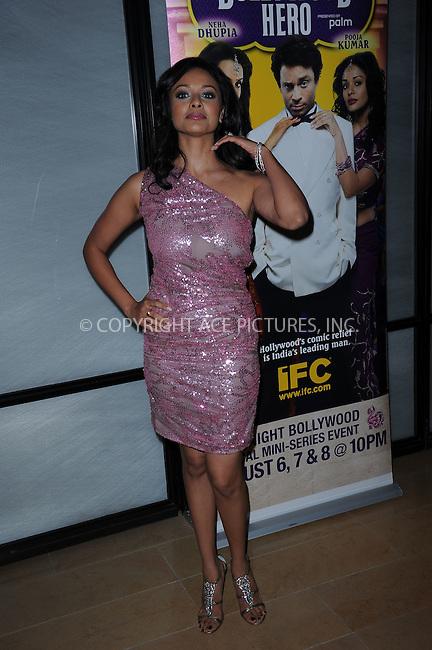 WWW.ACEPIXS.COM . . . . . ....August 4 2009, New York City....Actress Pooja Kumar at the premiere of 'Bollywood Hero' at the Rubin Museum of Art August 4, 2009 in New York City. ....Please byline: KRISTIN CALLAHAN - ACEPIXS.COM.. . . . . . ..Ace Pictures, Inc:  ..tel: (212) 243 8787 or (646) 769 0430..e-mail: info@acepixs.com..web: http://www.acepixs.com
