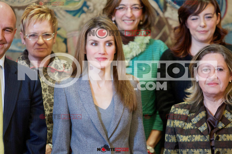 Spain's princess Letizia during audiences. February 27, 2013. (ALTERPHOTOS/Alvaro Hernandez) /NortePhoto