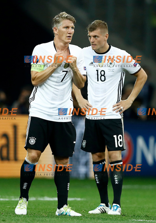 The delusion of Bastian Schweinsteiger and Toni Kroos (Germany). delusione <br /> Marseille 07-07-2016 Stade Velodrome Football Euro2016 Germany - France / Germania - Francia Semi-finals / Semifinali <br /> Foto Matteo Ciambelli / Insidefoto