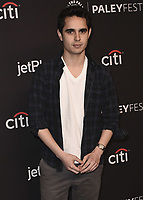 """HOLLYWOOD, CA - MARCH 18:  Max Minghella at PaleyFest 2018 - """"The Handmaid's Tale"""" at the Dolby Theatre on March 18, 2018 in Hollywood, California. (Photo by Scott KirklandPictureGroup)"""
