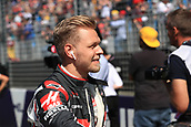 25th March 2018, Melbourne Grand Prix Circuit, Melbourne, Australia; Melbourne Formula One Grand Prix, race day; Haas F1 Team;  Kevin Magnussen