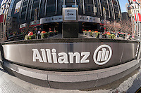 The headquarters of Allianz insurance company in New York on Sunday, November 23, 2014. Allianz is the largest insurer in Europe. (© Richard B. Levine)