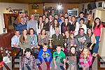 Fossa Rowing Club members who were awarded their medals after another highly successful year at their end of season party in the Old Killarney Inn Fossa on Saturday night