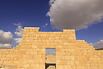 Isarael, Negev, Avdat, built in the 1st century by the Nabateans. A world Heritage Site as part of the Spice Route, the City Fortress