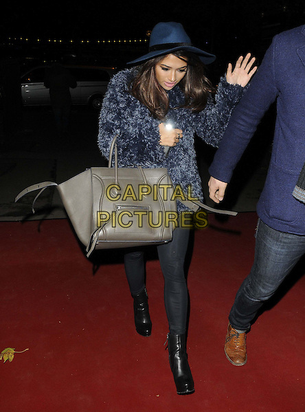 LONDON, ENGLAND - NOVEMBER 14: Vanessa White of The Saturdays at the Chain Of Hope Annual Ball, Supernova, Embankment Gardens, on Thursday November 14, 2013 in London, England, UK.<br /> CAP/CAN<br /> &copy;Can Nguyen/Capital Pictures