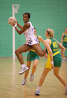 07 OCT 2009 - LOUGHBOROUGH, GBR - Naida Hutchinson - Loughborough Lightning v Australian Diamonds (PHOTO (C) NIGEL FARROW)