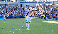 Carson, CA - September 11, 2016: The LA Galaxy take 3-1 lead over Orlando City SC with Giovani dos Santos contributing a goal in a Major League Soccer (MLS) match at StubHub Center.