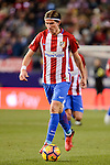Atletico de Madrid's Filipe Luis during La Liga match between Atletico de Madrid and Real Betis at Vicente Calderon Stadium in Madrid, Spain. January 14, 2017. (ALTERPHOTOS/BorjaB.Hojas)