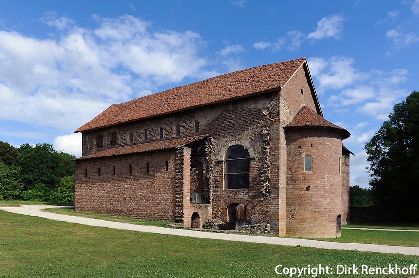 karolinische Einhardsbasilika von 827, Michelstadt-Steinbach im Odenwald, Hessen, Deutschland