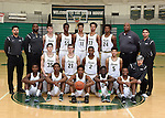 12-15-16, Huron High School boy's varsity basketball team