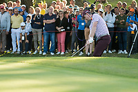 Justin Rose (ENG) in action on the 15th hole during the first round of the 76 Open D'Italia, Olgiata Golf Club, Rome, Rome, Italy. 10/10/19.<br /> Picture Stefano Di Maria / Golffile.ie<br /> <br /> All photo usage must carry mandatory copyright credit (© Golffile | Stefano Di Maria)