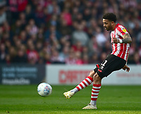 Lincoln City's Bruno Andrade<br /> <br /> Photographer Andrew Vaughan/CameraSport<br /> <br /> The EFL Sky Bet League Two - Lincoln City v Macclesfield Town - Saturday 30th March 2019 - Sincil Bank - Lincoln<br /> <br /> World Copyright © 2019 CameraSport. All rights reserved. 43 Linden Ave. Countesthorpe. Leicester. England. LE8 5PG - Tel: +44 (0) 116 277 4147 - admin@camerasport.com - www.camerasport.com