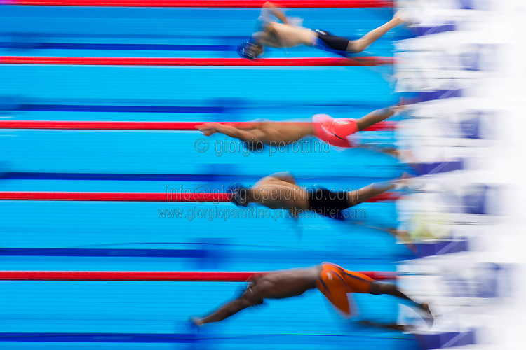 Start <br /> swimming<br /> Men's 50m breastroke heats<br /> day 12 25/07/2017 <br /> XVII FINA World Championships Aquatics<br /> Photo © Giorgio Perottino/Deepbluemedia/Insidefoto