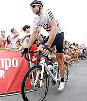 Ian Stannard during the stage of La Vuelta 2012 between Barakaldo and Valdezcaray.August 21,2012. (ALTERPHOTOS/Acero) /NortePhoto.com