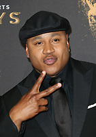 LOS ANGELES, CA - SEPTEMBER 09: LL Cool J, at the 2017 Creative Arts Emmy Awards at Microsoft Theater on September 9, 2017 in Los Angeles, California. <br /> CAP/MPIFS<br /> &copy;MPIFS/Capital Pictures