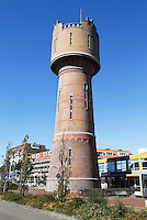 Nederland  Den Helder 2015 . De Nieuwe Watertoren  is ontworpen door architect Jan Schotel en werd gebouwd in 1908.