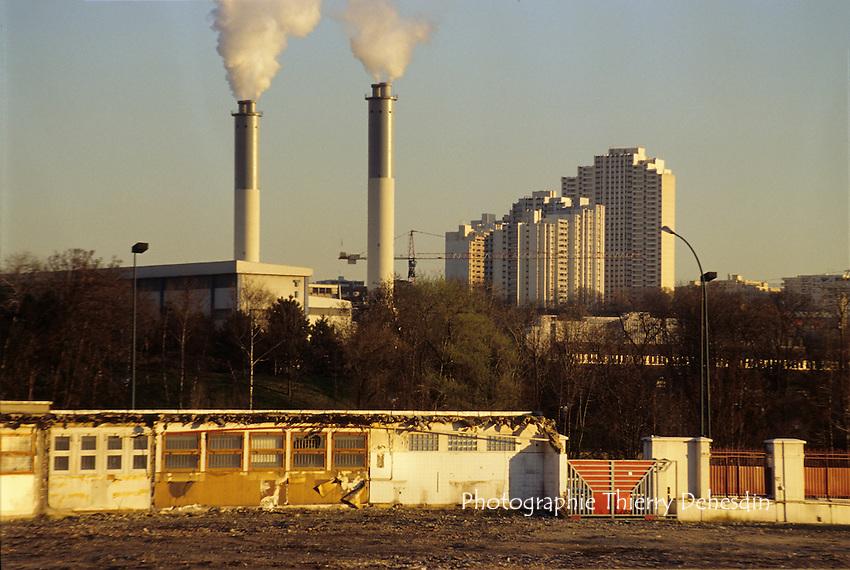 1995-1999; Issy les Moulineaux; Val de Seine; Depuis Boulogne Billancourt