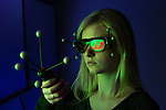 1309-70 015.CR2<br /> <br /> VuePod lab. Dr Daniel Ames, Civil and Environmental Engineering.<br /> 3D imaging research.<br /> Josie Bastian freshman in CEE<br /> <br /> September 24, 2013<br /> <br /> Photography by Mark A. Philbrick<br /> <br /> Copyright BYU Photo 2013<br /> All Rights Reserved<br /> photo@byu.edu  (801)422-7322