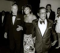 Sammy Davis Jr Dionne Warwick Frank Sinatra 1989<br /> John Barrett/PHOTOlink.net