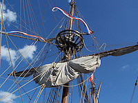 Reproduction of the Half Moon, Henry Hudson's ship that sailed up the Hudson River in 1609