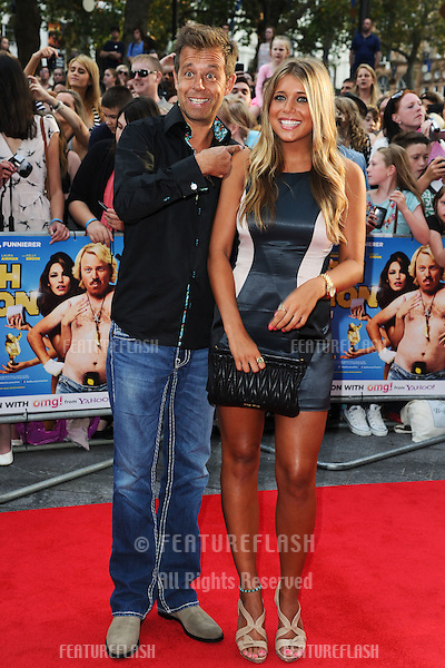 """DJ, Pat Sharpe arriving for the premiere of """"Keith Lemon: The Film"""" at the Vue Cinema, Leicester Square, London. 21/08/2012. Picture by: Steve Vas / Featureflash"""