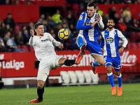 2017.12.02 La Liga Sevilla FC VS Deportivo de la Coruña