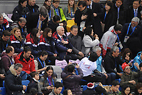 OLYMPIC GAMES: PYEONGCHANG: 10-02-2018, Gangneung Ice Arena, Short Track, US Vice President Mike Pence, ©photo Martin de Jong