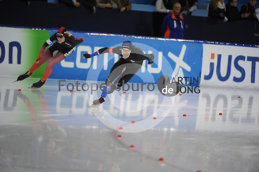 SCHAATSEN: HEERENVEEN: IJsstadion Thialf, 20-01-2017, KPN NK Sprint & Allround, ©foto Martin de Jong