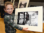 Lucas Hatch found a photo of himself taken by his dad Richard at the Mid-Louth Camera Club's 20th anniversary exhibition in St. Brigid's Hall Dunleer. Photo:Colin Bell/pressphotos.ie