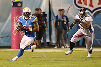 10/15/12 San Diego, CA: San Diego Chargers running back Ryan Mathews #24 during an NFL game played between the San Diego Chargers and the Denver Broncos at Qualcomm Stadium. The Broncos defeated the Chargers 35-24.