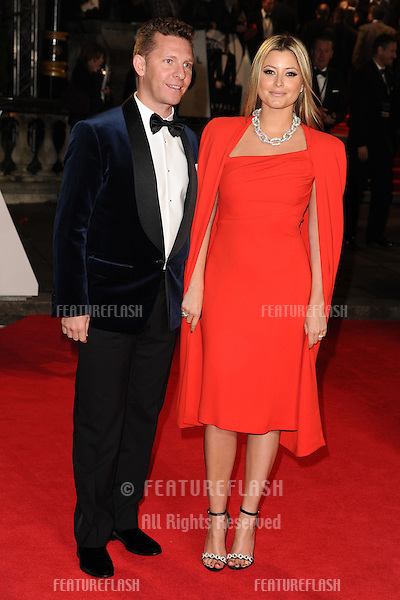 Holly Valance and Nick Candy arriving for the Royal World Premiere of 'Skyfall' at Royal Albert Hall, London. 23/10/2012 Picture by: Steve Vas / Featureflash