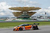 Car#97 Michael Chua Khian KENG (MAS), Rick Cheang Wan CHIN (MAS), Joseph Chua Thian SONG (MAS) of MIKE RACING Asian Le Mans Series Photo by Peter Lim/PhotoDesk.com.my