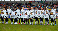Offenbach, Germany, Friday, April 05 2013: Womans, Germany vs. USA, in the Stadium in Offenbach,  Team USA..