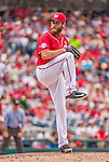 21 June 2015: Washington Nationals pitcher Matt Thornton on the mound in the 8th inning against the Pittsburgh Pirates at Nationals Park in Washington, DC. The Nationals defeated the Pirates 9-2 to sweep their 3-game weekend series, and improve their record to 37-33. Mandatory Credit: Ed Wolfstein Photo *** RAW (NEF) Image File Available ***