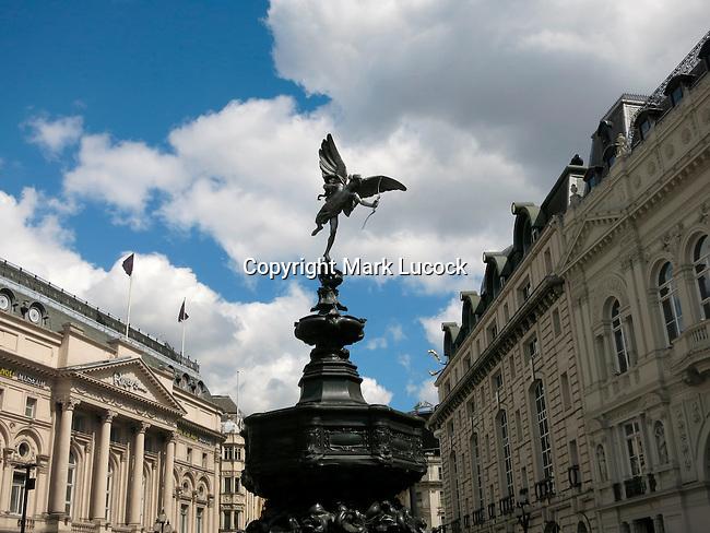 Eros, Picadilly Circus, London, UK