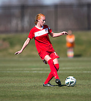 Tori Huster. The Washington Spirit defeated the North Carolina Tar Heels in a preseason exhibition, 2-0, at the Maryland SoccerPlex in Boyds, MD.