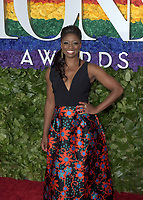 NEW YORK, NEW YORK - JUNE 09: Montego Glover attends the 73rd Annual Tony Awards at Radio City Music Hall on June 09, 2019 in New York City. <br /> CAP/MPI/IS/JS<br /> ©JSIS/MPI/Capital Pictures