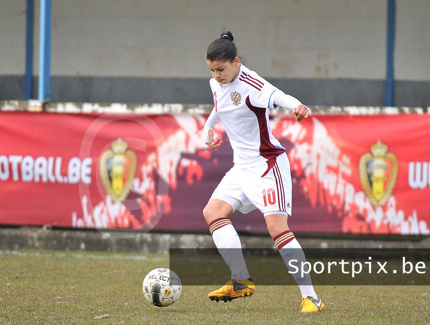 France U19 - Russia U19 : Nadezhda Karpova.foto DAVID CATRY / Nikonpro.be