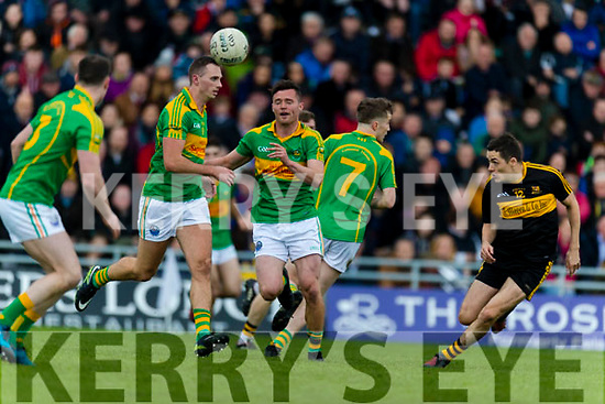 Dr Crokes in action against  South Kerry in the Senior County Football Final in Austin Stack Park on Sunday