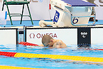 Rio de Janeiro-9/9/2016-Nathan Stein swims in the men's 50m fr finals at the 2016 Paralympic Games in Rio. Photo Scott Grant/Canadian Paralympic Committee