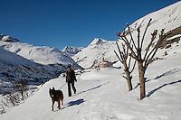 LEcot, a hamlet close to Bonneval sur Arc, Savoie, France, 17 February 2012.