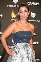 Inma Cuesta attends the Feroz Cinema Awards 2015 at Las Ventas, Madrid,  Spain. January 25, 2015.(ALTERPHOTOS/)Carlos Dafonte) /NortePhoto<br /> <br /> nortePhoto.com