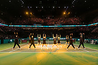 Rotterdam, The Netherlands, 17 Februari 2019, ABNAMRO World Tennis Tournament, Ahoy, Dancers, <br /> Photo: www.tennisimages.com/Henk Koster