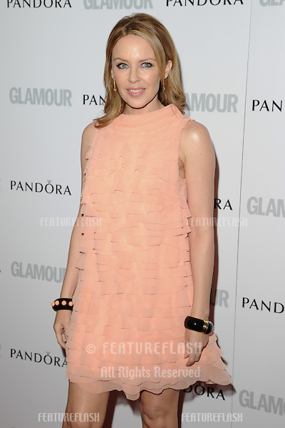 Kylie Minogue arriving for the 013 Glamour Women of The Year Awards, Berkeley Square, London. 04/06/2013 Picture by: Steve Vas / Featureflash